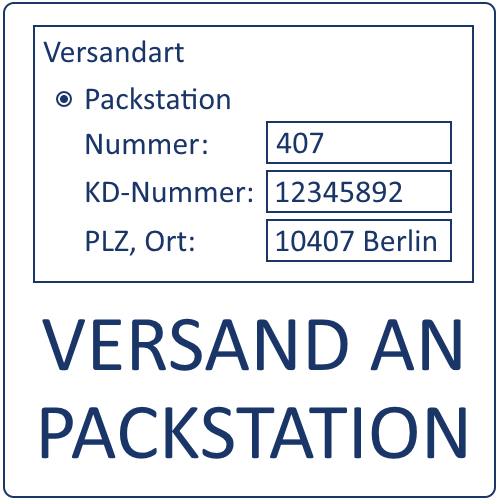 Versand an Packstation, JTL-Shop4 Plugin
